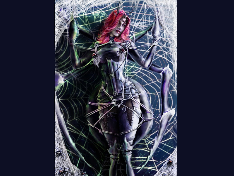 Demon In Web, Demonesses