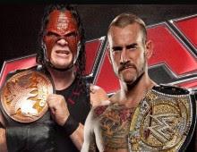 مصارعة WWE Raw 26/11/2012