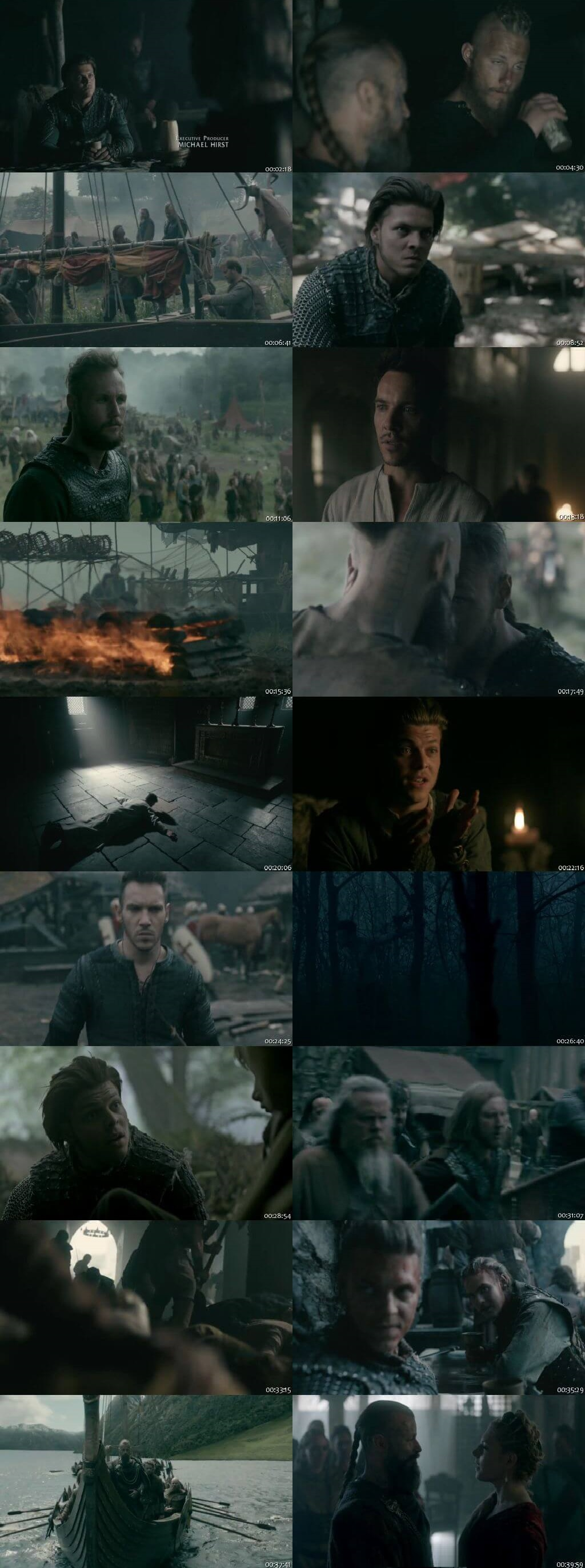 Screenshots Of Hindi Dubbed Show Vikings 2018 - 2019 Season 05 Complete All Episodes 300MB 720P HD