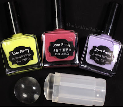 Born pretty store clear stamper stamping polishes