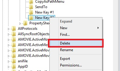 how to add copy to or move to in regefit