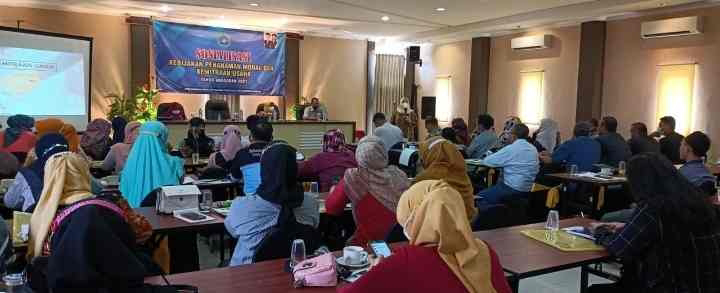 Sosialisasi Kebijakan Penanaman Modal dan Kemitraan Usaha dari Dinas DPMPTSP LAMONGAN..