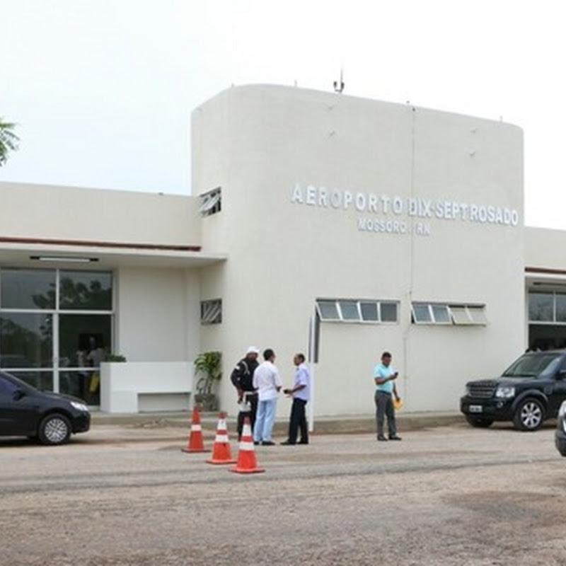 Anac realiza vistoria no aeroporto Dix-Sept Rosado em Mossoró