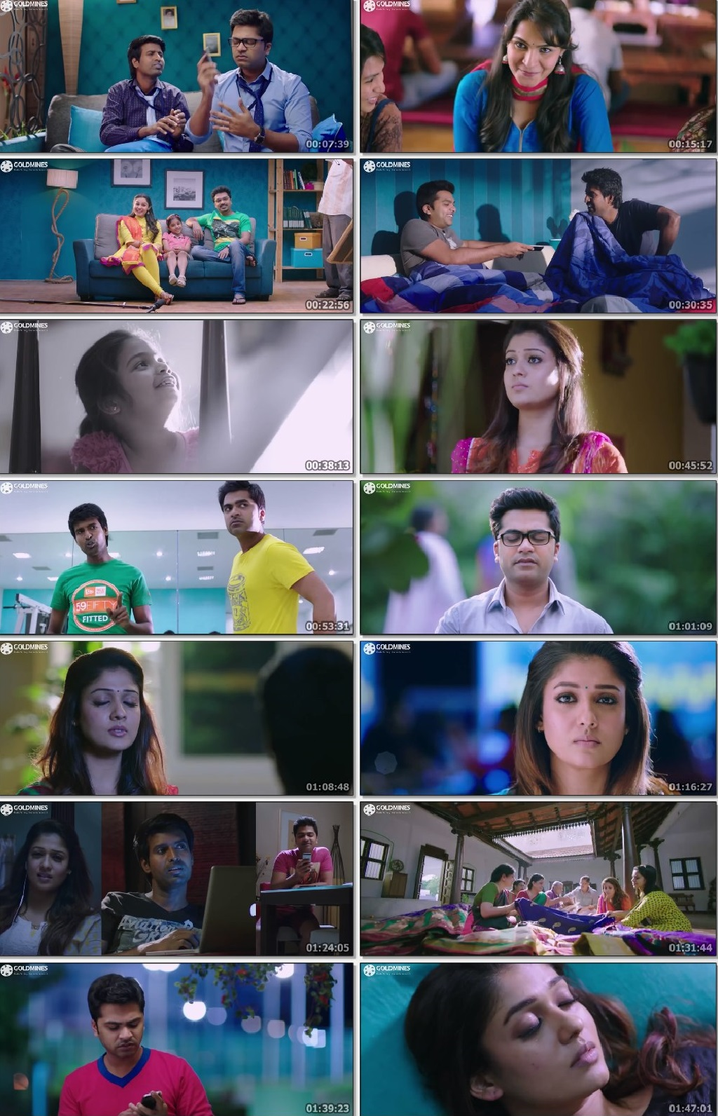 Screen Shot Of Idhu Namma Aalu 2016 300MB Full Movie Hindi Dubbed Free Download 480P BRRip Small Size PC Movie