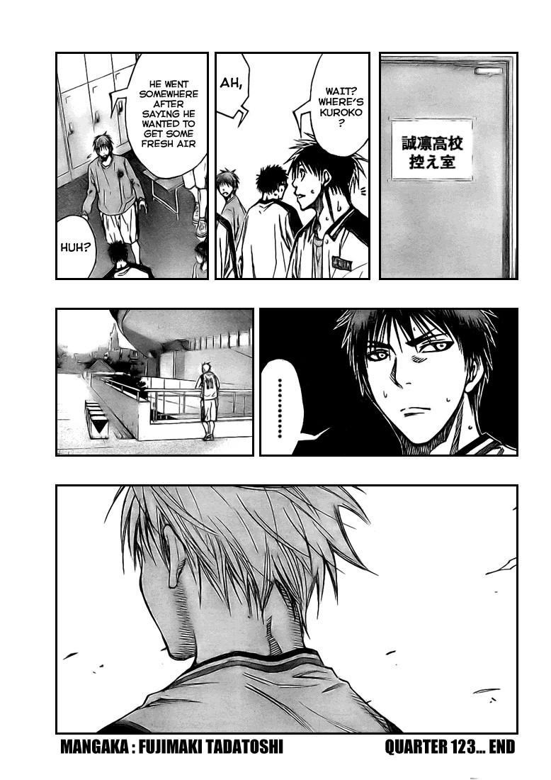 Kuroko no Basket Manga Chapter 123 - Image 19