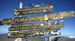 Sommet du Kilimanjaro 5895m