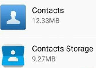 solusi kontak whatsapp tidak muncul lenovo a6000 plus