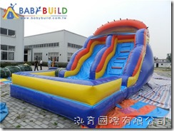 BabyBuild 氣墊式滑梯