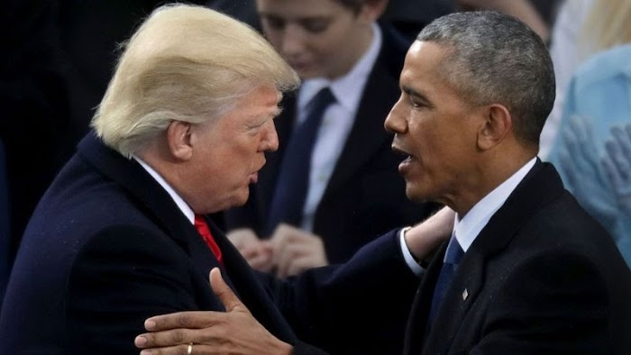 Concede to Biden and we'll forever remember you - Obama begs Trump