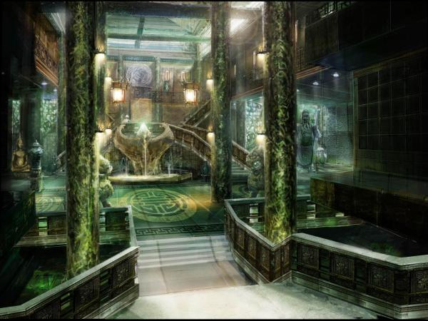 Ancient Temole, Magical Landscapes 1