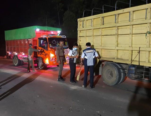 Gubernur Kalteng Tuding Angkutan Over Kapasitas Sebabkan Jalan Rusak