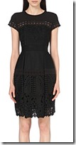 Ted Baker Black Lace Dress