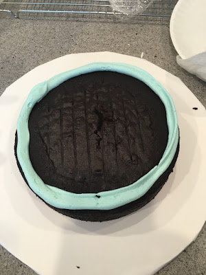 Phenomenal Shark Ocean Birthday Cake Annies Amazing Cakes Personalised Birthday Cards Sponlily Jamesorg