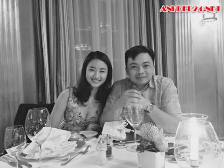 Hoa hậu Thu Ngân khoe ảnh hôn chồng đại gia thuở hẹn hò