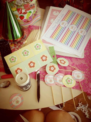 Azumi's Birthday Cupcake Toppers