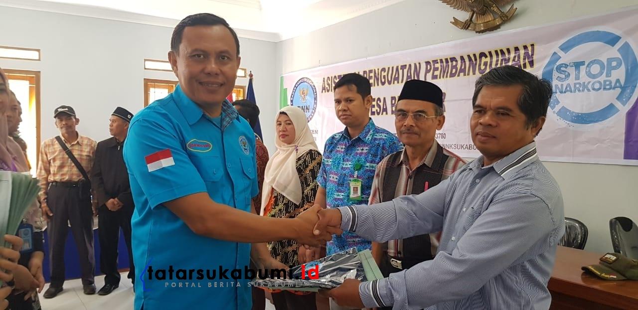 BNNK Sukabumi Pastikan Desa Sukamantri dan Desa Gede Pangrango Bersih Narkoba