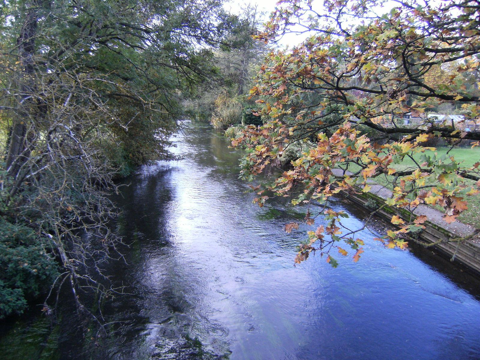 DSCF2293 Blackwater River at Eversley Bridge
