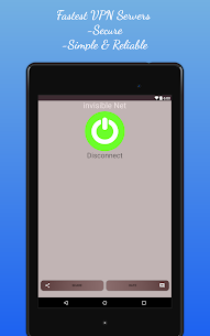 Invisible NET Free VPN – Fast VPN proxy App Download For Android 10