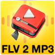 FLVto-mp3: FLV į mp3 CONVERTER 2018 icon
