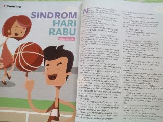 Syndrom Hari Rabu [cerpen dimuat di majalah Kawanku]