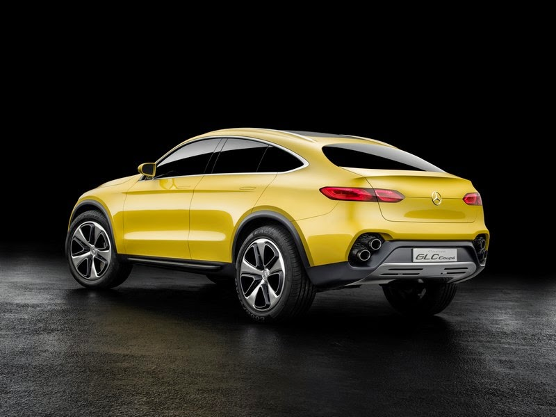 Mercedes Benz Concept Glc Coupe