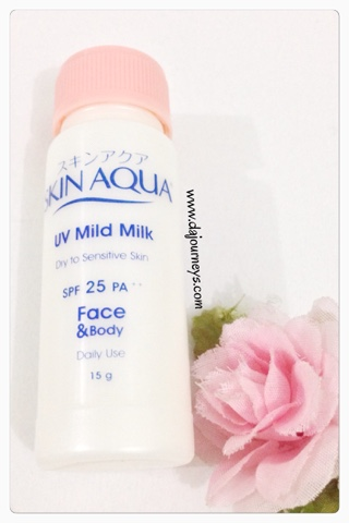 Review Skin Aqua UV Mild Milk