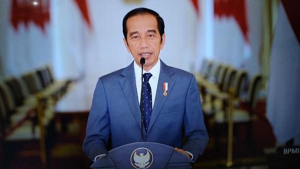 Beri Selamat HUT ke PAN, Jokowi Bicara Orang Terusik Saat Perubahan Dilakukan