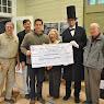 Peekskill Lincoln Depot $100,000 Check Presentation