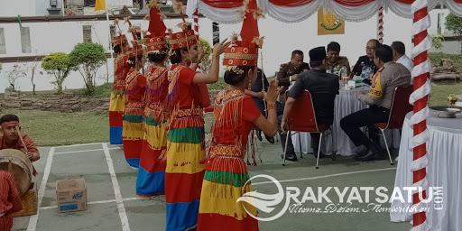 Pa'gellu, Meriahkan Syukuran Hari Bhakti Adhyaksa ke-58 Kejari Tana Toraja