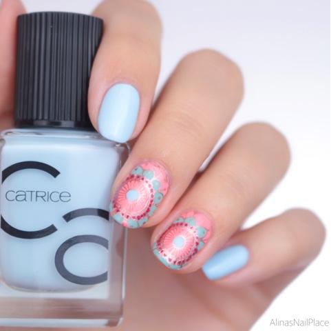 catrice iconails nailart reverse stamping
