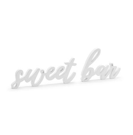 Träskylt - sweet bar