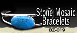 Stone Mosaic Bracelet | BZ-019