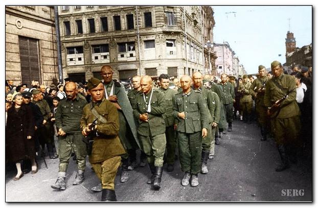 Немецкие военнопленные в годы войны и после