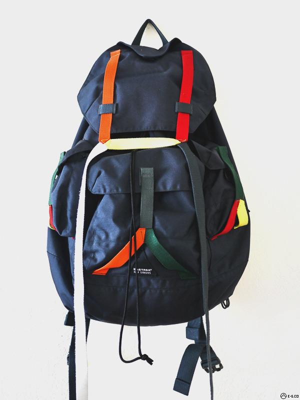 fs raf simons x eastpak backpack oversized rare ss08