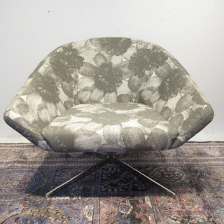 Contemporary Floral Chair 1