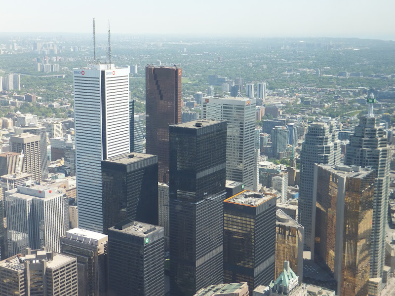 Toronto, Canadá, Elisa N, Blog de Viajes, CN Tower