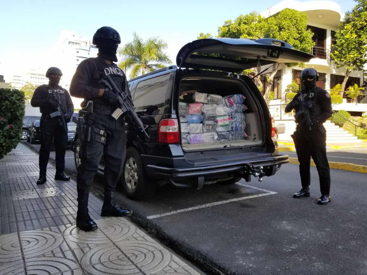 DNCD decomisa 144 paquetes de cocaína en contenedor del Puerto Multimodal Caucedo