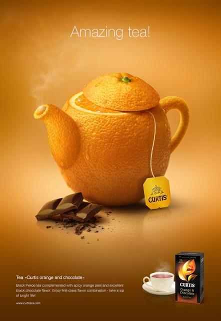 Curtis Tea Naranja con Chocolate