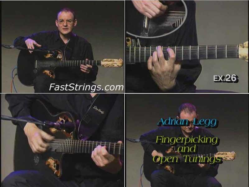 Adrian Legg - Fingerpicking and Open Tunings