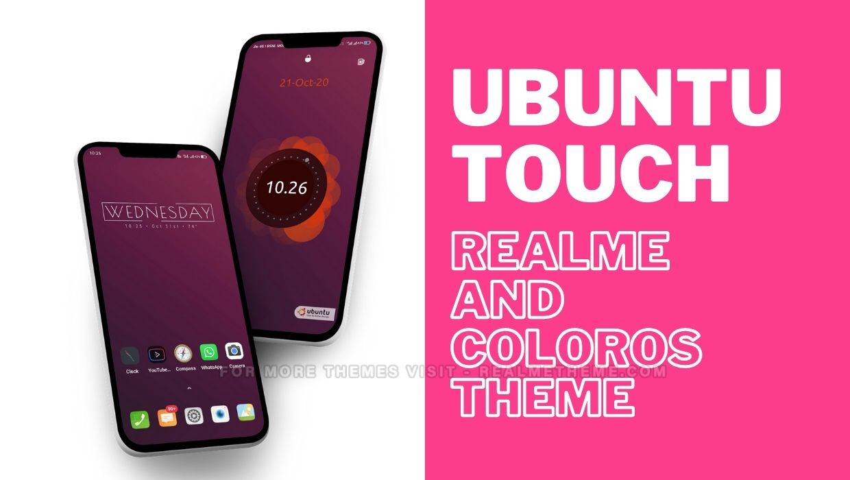 Ubuntu Touch Theme for Realme Devices