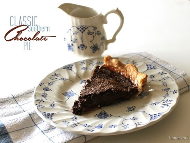 Classic Southern Chocolate Pie