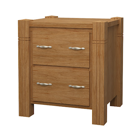 Phoenix Lateral File Cabinet in Calhoun Maple