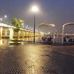 banpo bridge on a rainy day where I met my friend Joeun in Seoul, Seoul Special City, South Korea