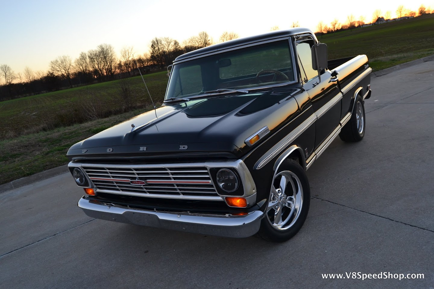 1969 Ford F100 Thunders Truck Build Photos And Videos V8tv 1955 Pick Up For Sale On 2002 Lightning Chassis