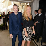 WWW.ENTSIMAGES.COM -   Patrick Kielty and Cat Deeley    at          BBC Children in Need Gala Lunch at The Savoy, Strand, London                                               Photo Mobis Photos/OIC 0203 174 1069