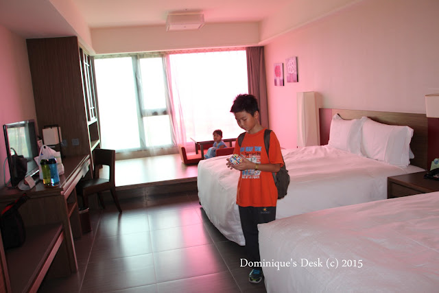 Our room at Fullon Hotel , Yue Mei 福容 月眉