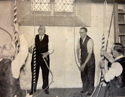Bell ringers at All Saints Church