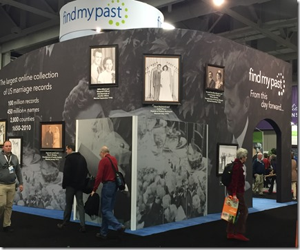 Findmypast and FamilySearch are collaborating on a U.S. marriage collection.