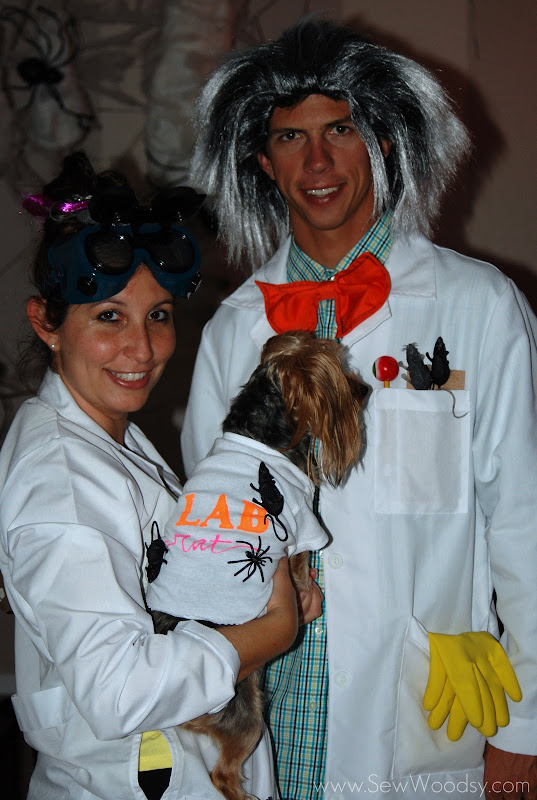 Mad Scientist Costumes Science Experiments Sew Woodsy