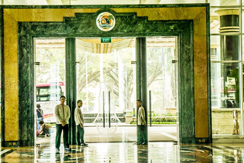 ブルネイ エンパイア・ホテル ロビー1